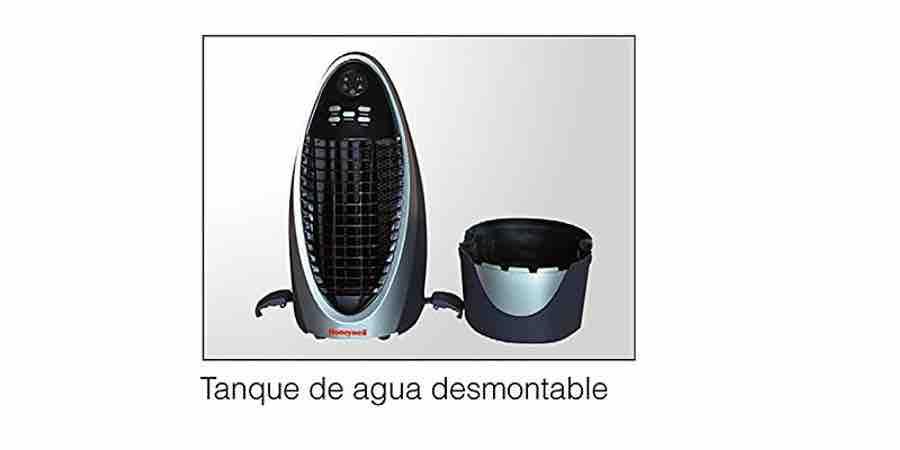 Tanque desmontable Honeywell Cs10XE, climatizador portatil honeywell, honeywell aire